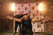 Jeff Koons and DMC at KHCC gala